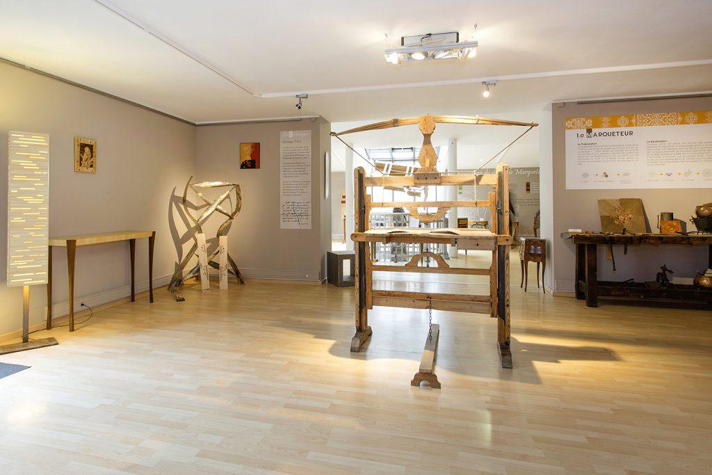 Musée du bois et la marqueterie - Outils