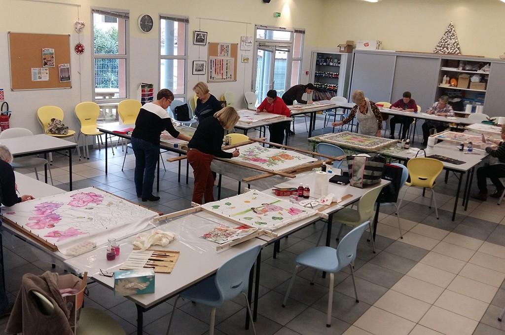 Atelier créatif du centre social