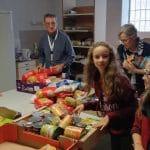 Collecte alimentaire avec le CAAR le 21 octobre 2018