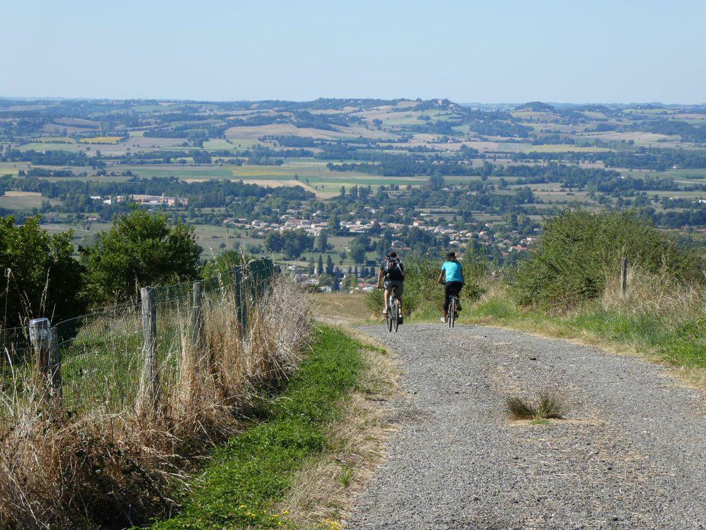 Faire du vélo à Revel