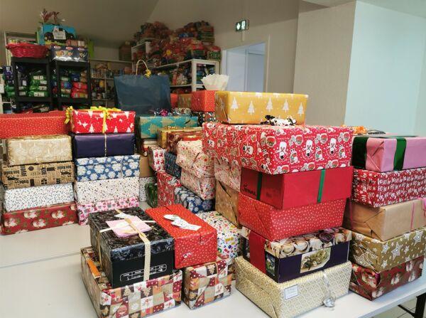 Boîtes cadeaux pour un Noël solidaire!